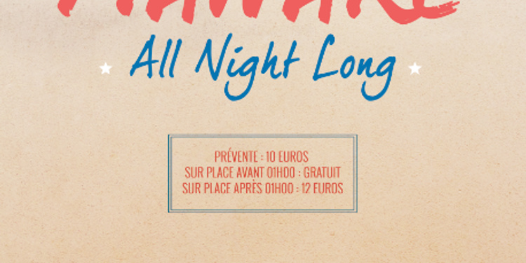Manaré All Night Long