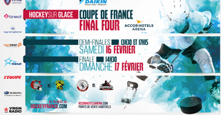 Coupe de France de Hockey sur glace 2019 à l'AccorHotels Arena de Paris