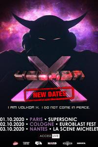 Volkor X • Tout Est Beau • Aphélie / Supersonic (Free entry) - Le Supersonic - jeudi 1 octobre