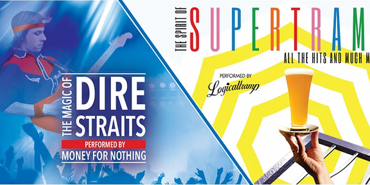 Dire Straits et Supertramp, la tournée Tribute de Rock Legends
