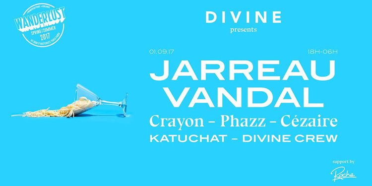 Divine - Jarreau Vandal, Crayon, Phazz, Cézaire & more