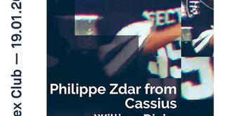 Rex Club Présente Zdar From Cassius, William Djoko, Aubry