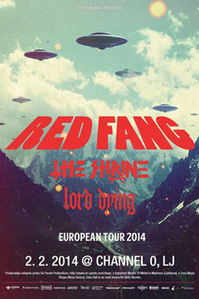 Red Fang + lord dying + the shrine