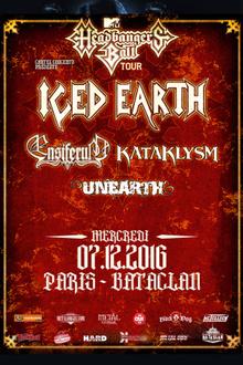 ICED EARTH + ENSIFERUM + KATAKLYSM + UNEARTH