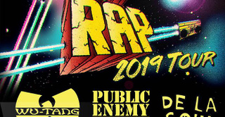 Gods of Rap Tour : Wu-Tang Clan + Public Enemy + De La Soul