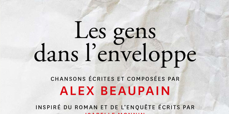 Alex Beaupain en concert