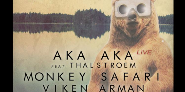ECLIPSE avec Aka Aka, Monkey Safari, Viken Arman, Mismatch