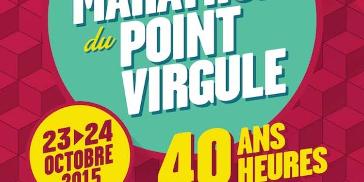 Le Grand Marathon du Point Virgule