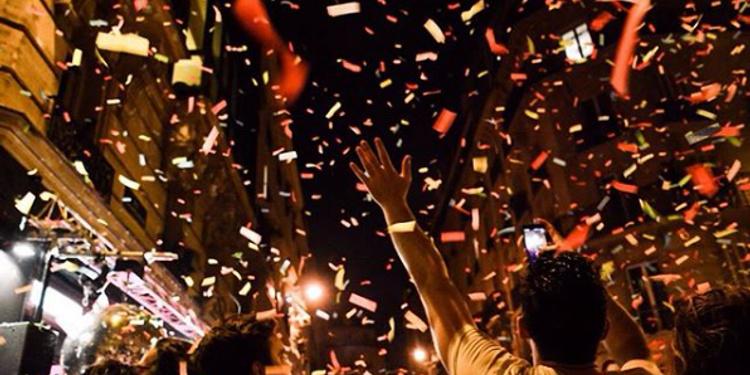 Open Air : Vendredi c'est confettis !