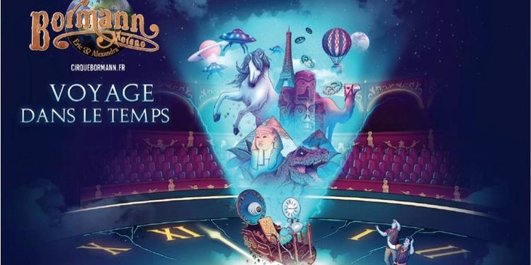 """Cirque BORMANN dans """"VOYAGE DANS LE TEMPS"""""""