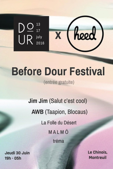 Before Dour Festival by heed