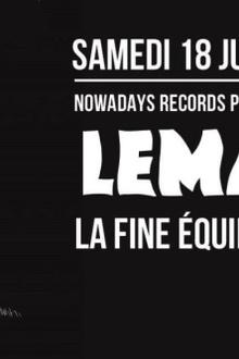 Nowadays Records présente Mindtrick Release Party W/ LeMarquis • La Fine Equipe • Saint WKND