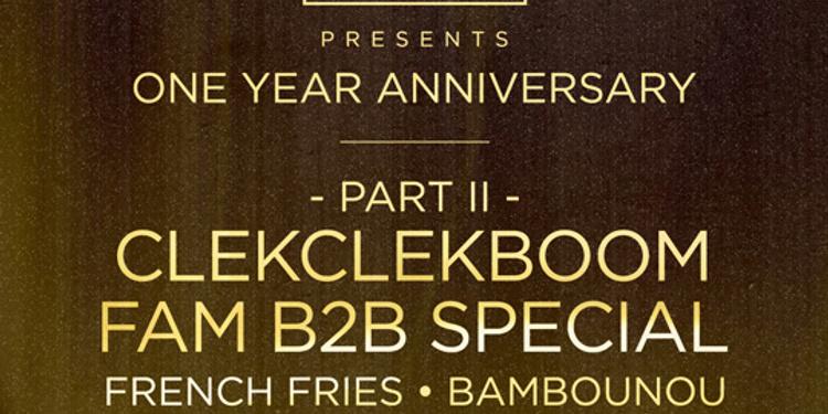 Clekclekboom 1 Year Anniversary  Part 2 Special B2B