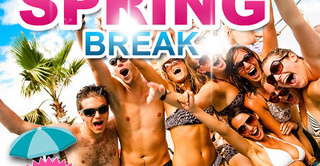 spring break calofornia party
