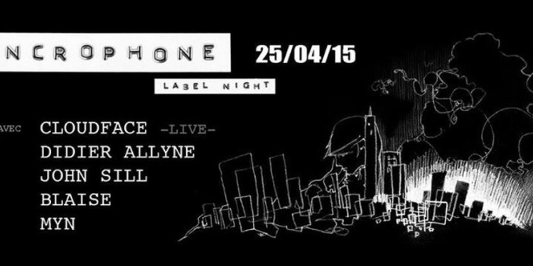 Syncrophone Label Night : Cloudface (live)