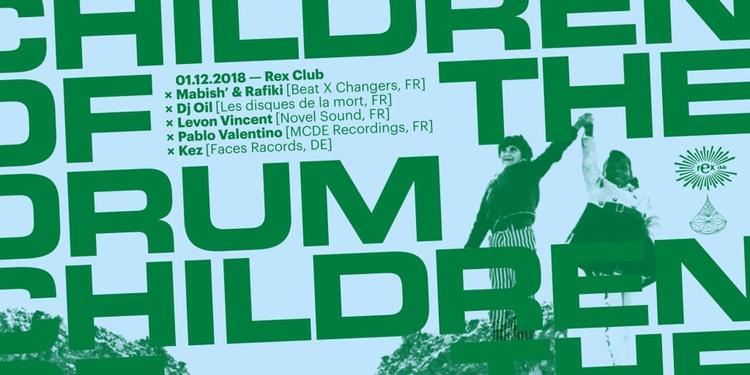 Children Of The Drum x Tape Water: Levon Vincent, DJ Oil, Pablo Valentino, Kez, Mab'ish & Rafi