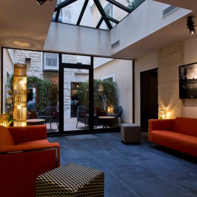 Hôtel Atmosphères, le Paris en clichés