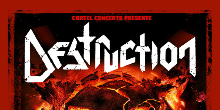 Destruction + Flotsam and Jetsam + Enforcer + Nervosa