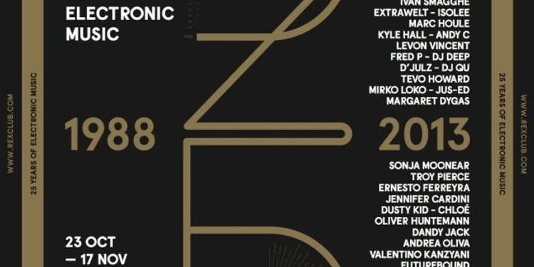 Rex Club '25 Years': Extrawelt Live, Ben Men, Loodboy, Kaine