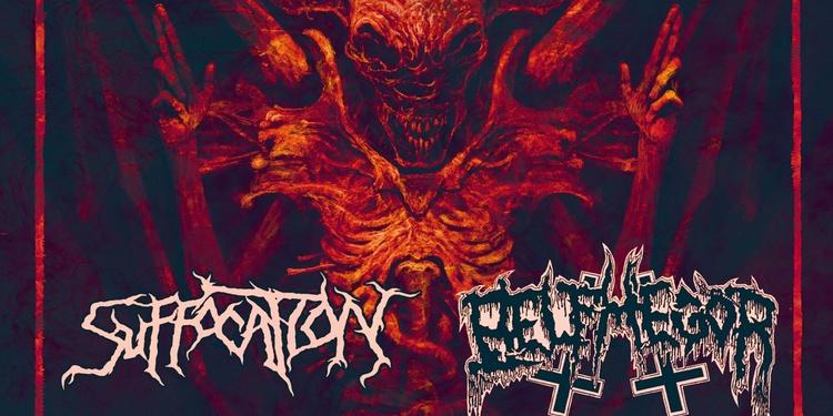 Suffocation + Belphegor + God death roned + Nordjevel + Darkrise