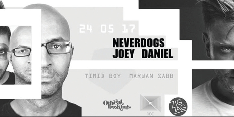 DBE & ZigZag : Joey Daniel - Neverdogs - Timid Boy & Marwan Sabb