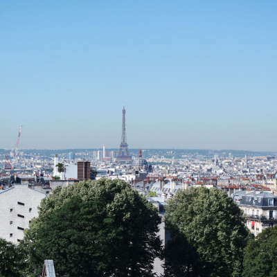 Rooftop le Terrass' Hôtel, Paris vu du 7ème ciel