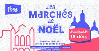 Le Marché de Noël #madein18e | Le Hasard Ludique