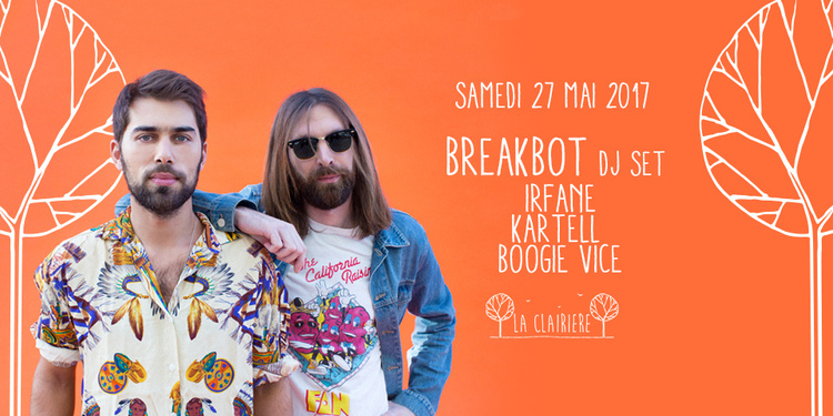 Breakbot x La Clairière