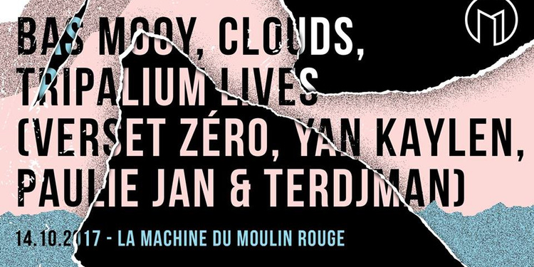 Open Minded Party : Bas Mooy, Clouds & Tripalium lives