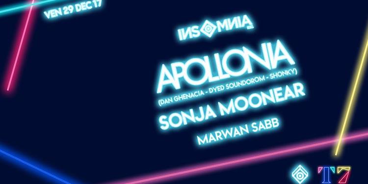 INSoMNia • Apollonia • Sonja Moonear • Marwan Sabb