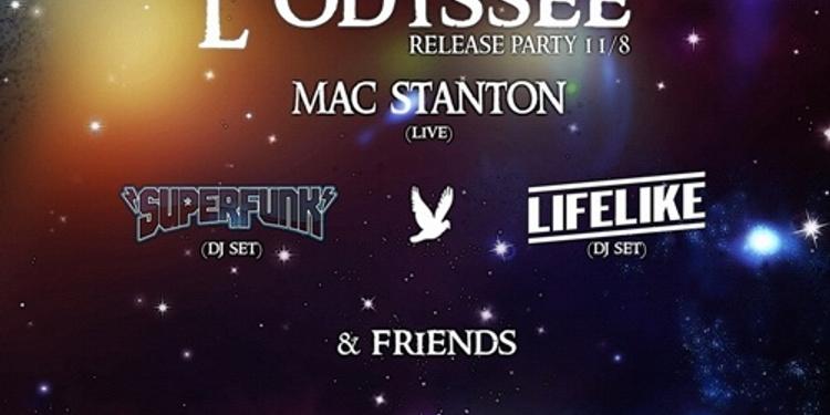 L'Odyssée Release Party@Batofar@Lifelike@Superfunk@MacStanton 11/08/2017