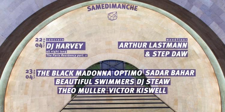 Concrete : Dj Harvey, The Black Madonna, Optimo, Sadar Bahar