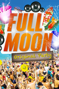 full moon party - California Avenue - vendredi 2 octobre