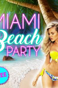 MIAMI BEACH PARTY - California Avenue - jeudi 12 mars 2020