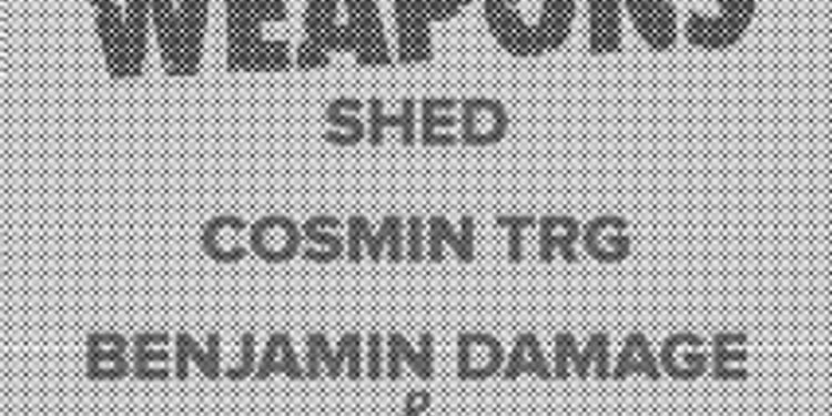 50 Weapons : Shed, Bambounou, Cosmin TRG, Benjamin Damage & Bambounou