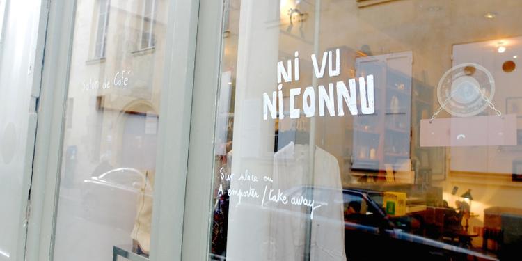 Ni Vu Ni Connu Paris Restaurant Shop