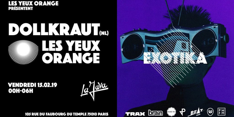 Les Yeux Orange with Dollkraut
