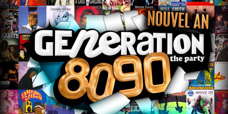 Génération 80-90 - Réveillon 2021