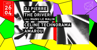 Concrete: DJ Pierre The Driver Celine Technorama Amarou