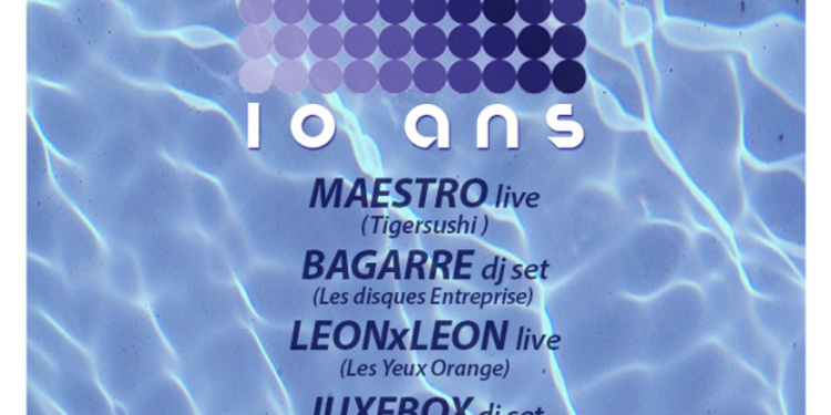 10 ANS NOVORAMA w/ MAESTRO x BAGARRE dj set x LeonxLeon x Juxebox x Novorama Soundsystem and Guests