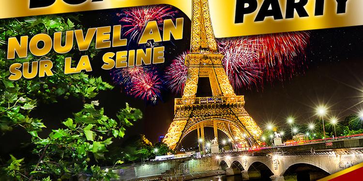 Boat Party # Nouvel An sur la Seine