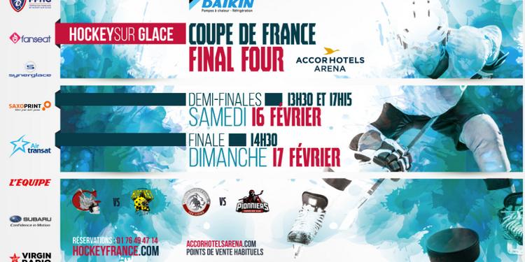 Coupe de France de Hockey sur glace 2019 à l'AccorHotels Arena de Paris