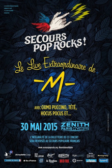 Secours Pop Rocks - Le live extraordinaire de -M-