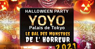 LE BAL DES MONSTRES DE L' HORREUR 2021 YOYO - PALAIS DE TOKYO