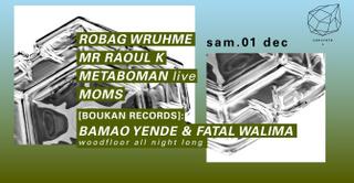 Concrete: Robag Wruhme, Mr Raoul K, Metaboman Live, Moms