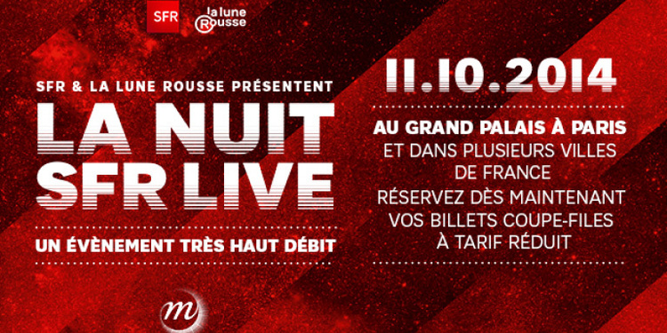 La nuit SFR Live 2014