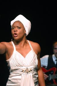 Portrait de Ludmilla en Nina Simone - Centre culturel l'Imprévu - jeudi 28 novembre
