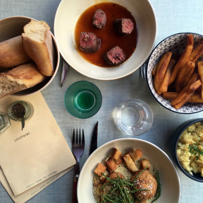 Restaurant Joséphine : terrasse, cocktails et small plates