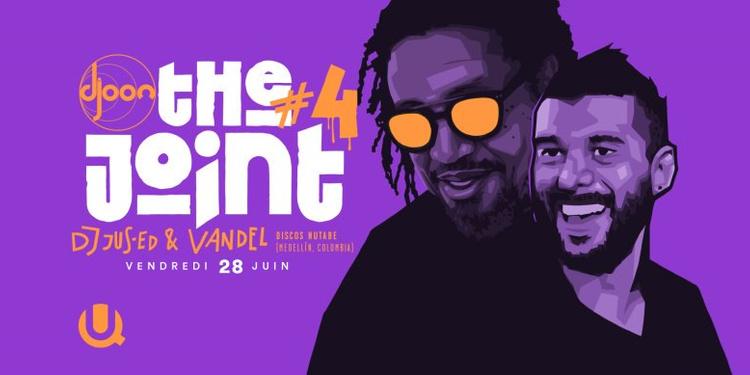 The Joint #4: Jus-Ed & Vandel (Discos Nutabe, Medellín)