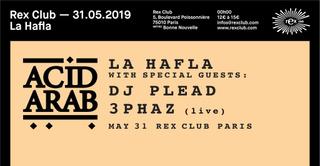 LA Hafla: Acid Arab, DJ Plead, 3Phaz Live